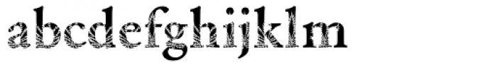 DTC Garamond M35 Font LOWERCASE