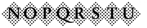 DTC Garamond M45 Font UPPERCASE