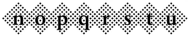 DTC Garamond M45 Font LOWERCASE