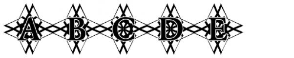 DTC Garamond M48 Font UPPERCASE