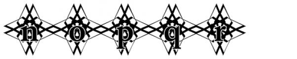 DTC Garamond M48 Font LOWERCASE