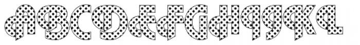 DTC Plaza M08 Font UPPERCASE