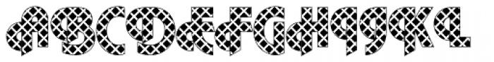 DTC Plaza M09 Font UPPERCASE