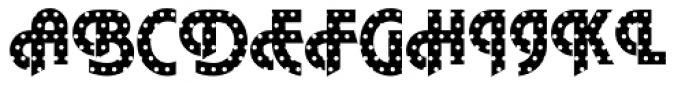 DTC Plaza M15 Font UPPERCASE