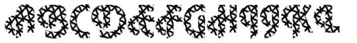 DTC Plaza M16 Font UPPERCASE
