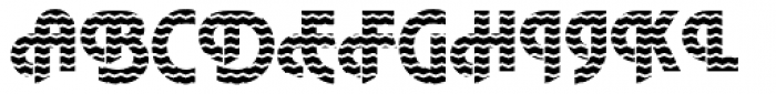 DTC Plaza M17 Font UPPERCASE