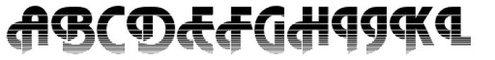 DTC Plaza M19 Font UPPERCASE
