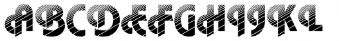 DTC Plaza M20 Font UPPERCASE