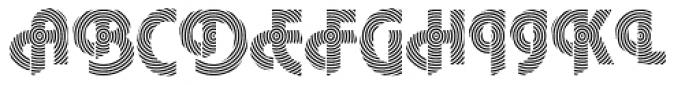 DTC Plaza M22 Font UPPERCASE