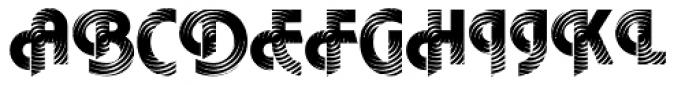 DTC Plaza M23 Font UPPERCASE