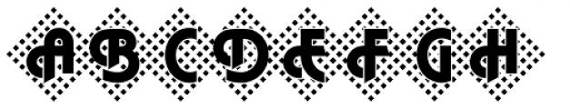 DTC Plaza M45 Font UPPERCASE