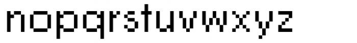 DTC Rough M01 Font LOWERCASE
