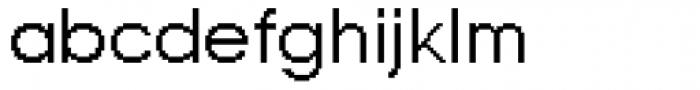 DTC Rough M02 Font LOWERCASE