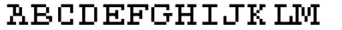 DTC Rough M21 Font UPPERCASE