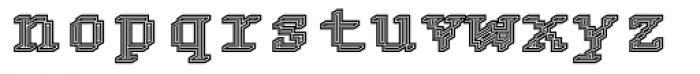 DTC Rough M24 Font LOWERCASE