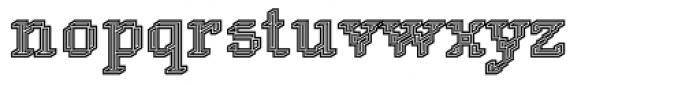 DTC Rough M34 Font LOWERCASE
