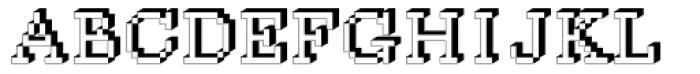 DTC Rough M35 Font UPPERCASE
