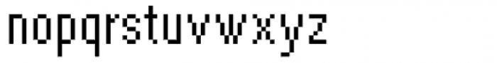 DTC Rough M41 Font LOWERCASE