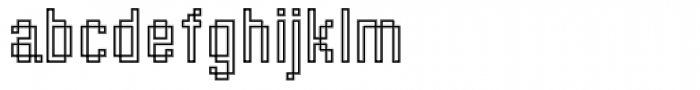 DTC Rough M43 Font LOWERCASE