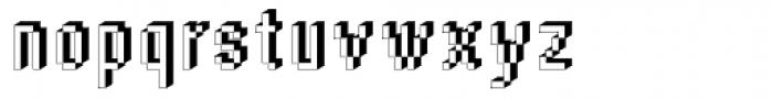 DTC Rough M45 Font LOWERCASE