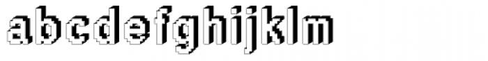 DTC Rough M46 Font LOWERCASE