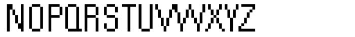 DTC Rough M51 Font UPPERCASE