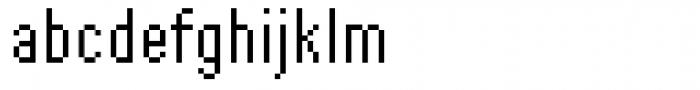 DTC Rough M51 Font LOWERCASE