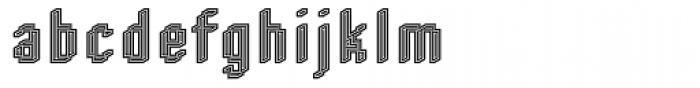 DTC Rough M54 Font LOWERCASE