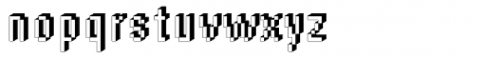 DTC Rough M55 Font LOWERCASE