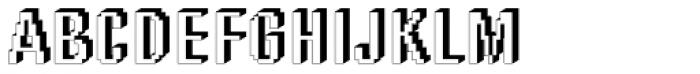 DTC Rough M56 Font UPPERCASE