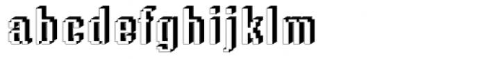 DTC Rough M56 Font LOWERCASE