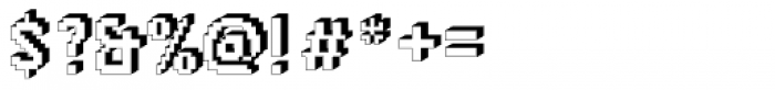DTC Rough M66 Font OTHER CHARS