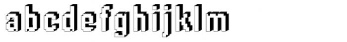 DTC Rough M66 Font LOWERCASE