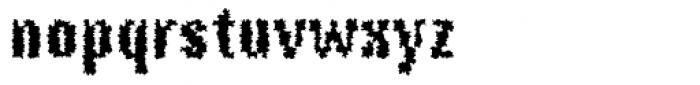 DTC Rough M68 Font LOWERCASE