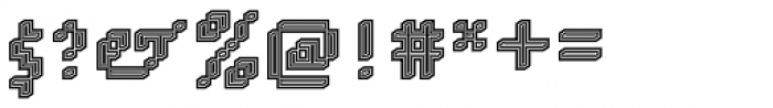 DTC Rough M74 Font OTHER CHARS