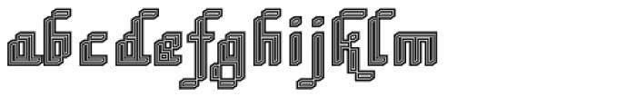 DTC Rough M74 Font LOWERCASE