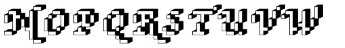 DTC Rough M75 Font UPPERCASE