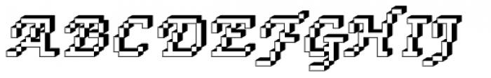 DTC Rough M76 Font UPPERCASE
