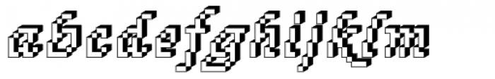 DTC Rough M76 Font LOWERCASE