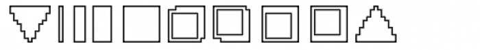 DTC Rough X03 Font OTHER CHARS