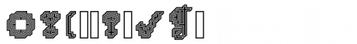 DTC Rough X04 Font OTHER CHARS