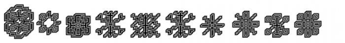 DTC Rough X04 Font LOWERCASE