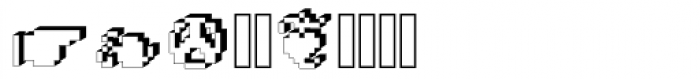 DTC Rough X15 Font OTHER CHARS