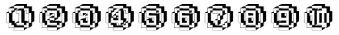 DTC Rough X25 Font UPPERCASE