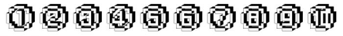 DTC Rough X25 Font LOWERCASE