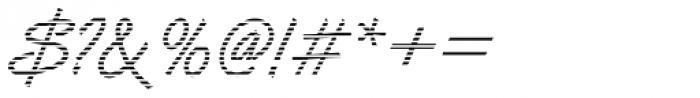 DTC Van Dijk M02 Font OTHER CHARS