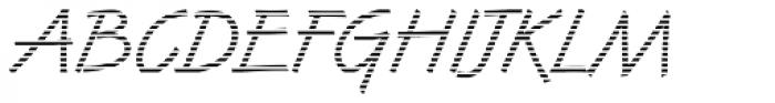 DTC Van Dijk M02 Font UPPERCASE