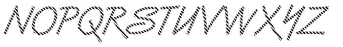 DTC Van Dijk M03 Font UPPERCASE
