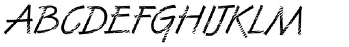 DTC Van Dijk M23 Font UPPERCASE