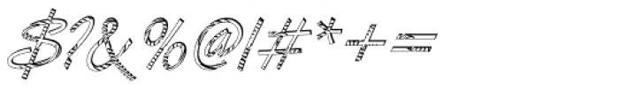 DTC Van Dijk M24 Font OTHER CHARS